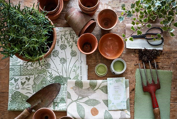 2-fabric-wallpaper-moodboard-botanical-greenery-potting-room-at-style-library